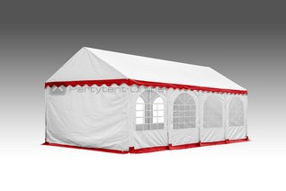 Feesttent 4x8 Rood wit