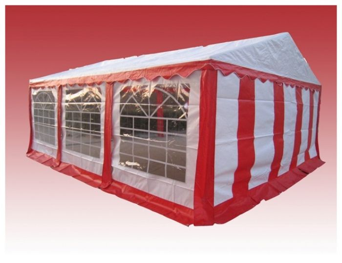 Partytent 3x6 Rood wit