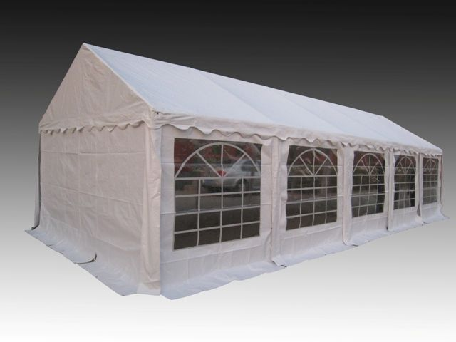 Feesttent 4x6 Wit extra hoog