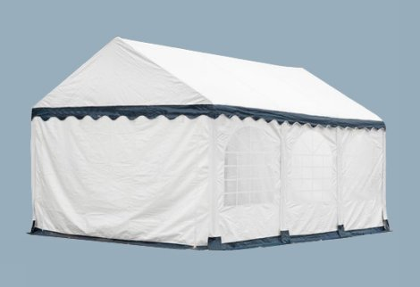 Partytent 5x6 Wit Blauw